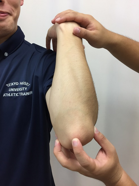 Thrower's elbow 1
