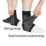 Stabilize with three-way straps