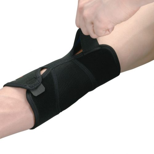 Adjustable design to fit the shape of the arm