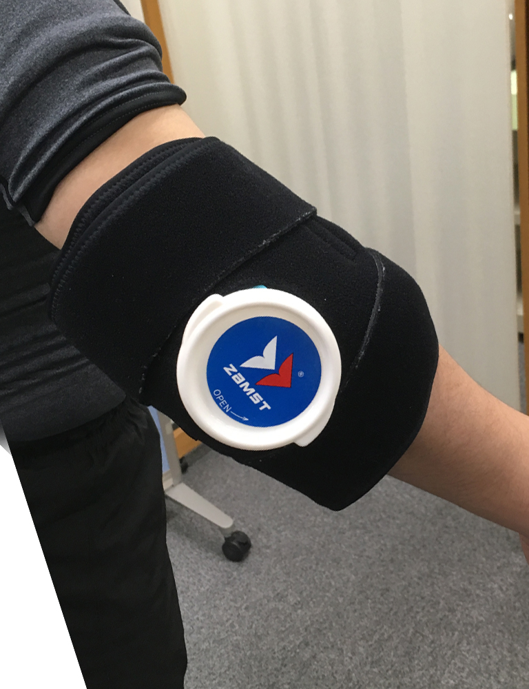 Elbow icing
