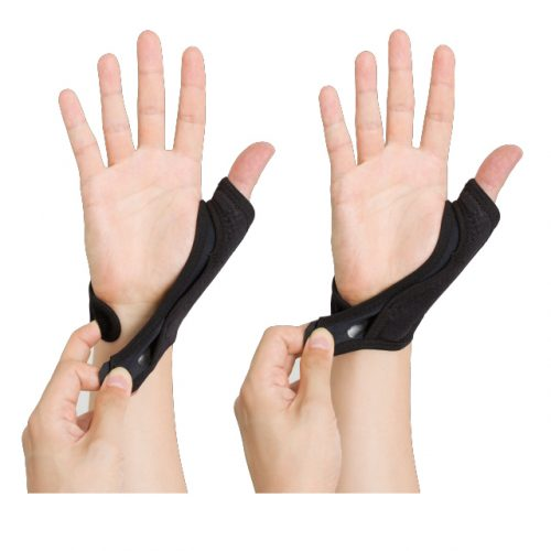 Easy-to-wear, gentle support for thumb movement