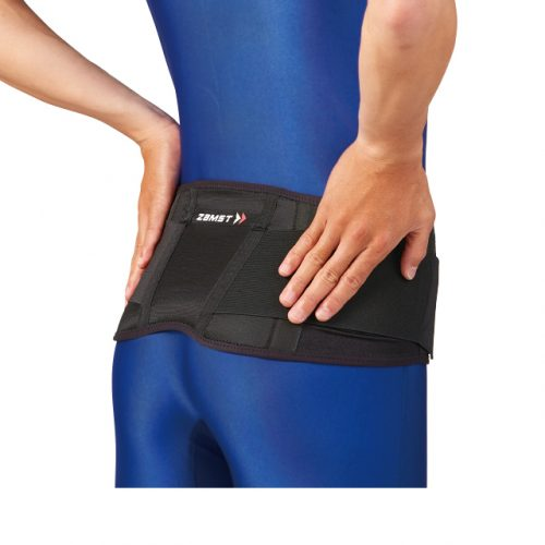 Gentle support for the whole lower back
