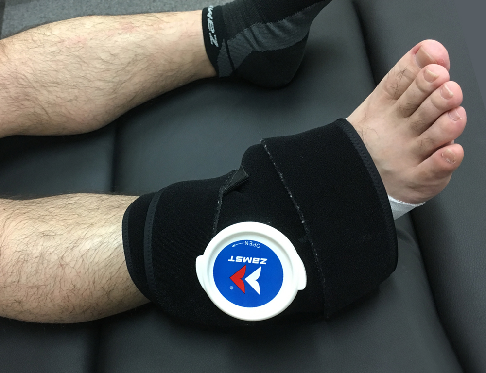 Ankle icing
