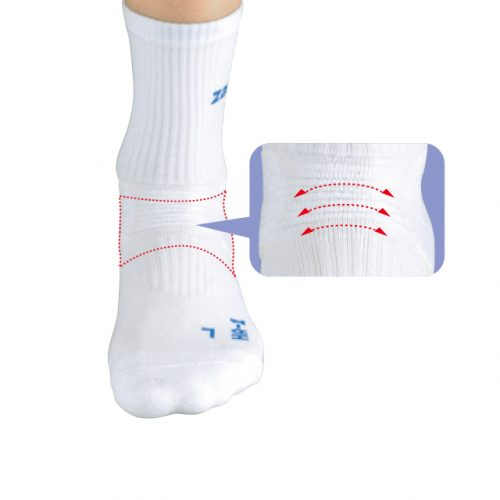Front-wave that does not prevent natural movement of the foot