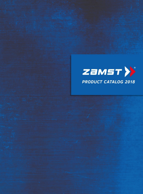 ZAMST Product Catalogue 2018.