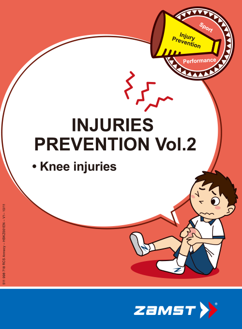 Zamst Injury booklet for Knee