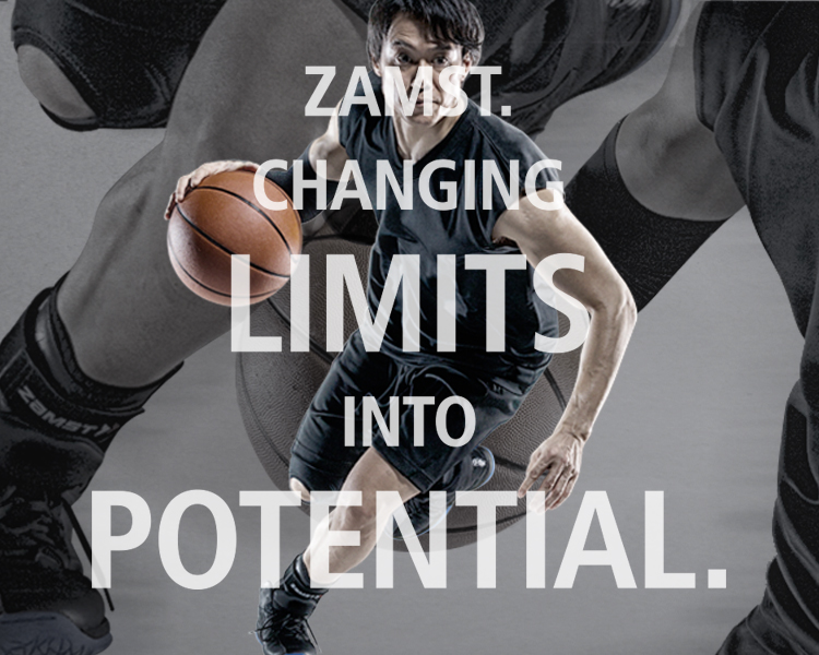 ZAMST.  CHANGING  LIMITS  INTO  POTENTIAL.