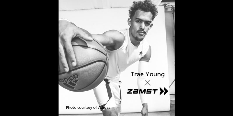Zamst announces sponsorship with Trae Young, an American pro basketball