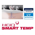 "Temperature control function by ""HeiQ SMART TEMP"""