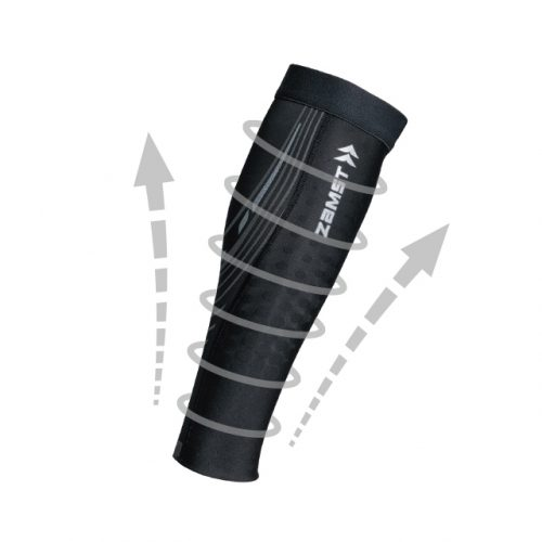 Design with gradual compression and function to reduce muscle vibration