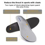 Reduce the thrust in sports with cleats